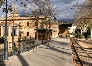 The Soller station