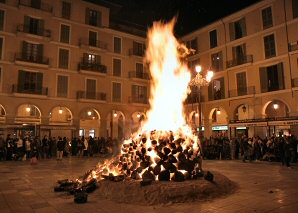 Fiestas for Sant Sebastià in Palma