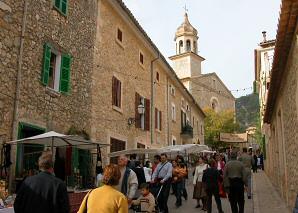 Feria de las setas en Mancor de la Vall