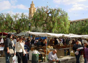 Olive Fair in Caimari