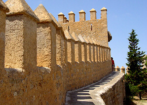 Walled area of Sant Salvador
