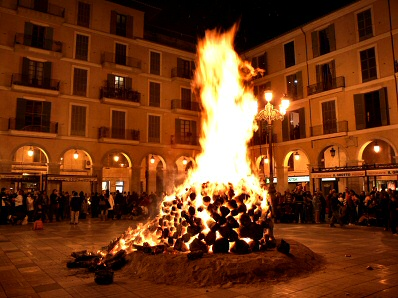 Bonfire of Sant Sebastià