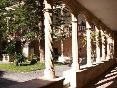 Cloister of the Monastery of La Real