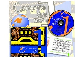 "The CD ""Cançons del Mon 1"" now on sale"