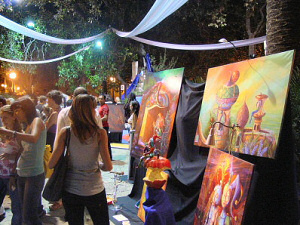 Art Night in Palma